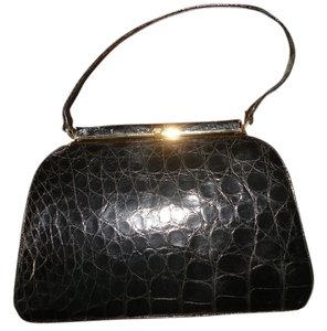 Genuine Crocodile Shoulder Bag