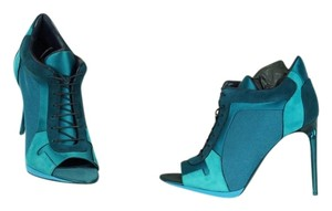 Burberry Teal Green Boots