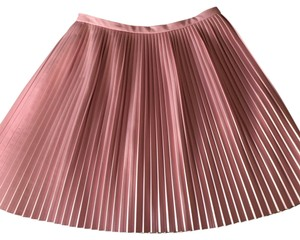 Tibi Mini Skirt Pink