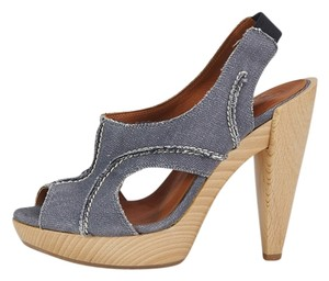 Lanvin 175661 Blue Sandals