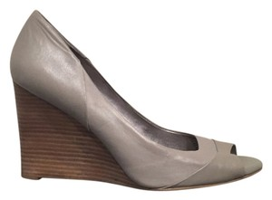 Banana Republic Grey Wedges