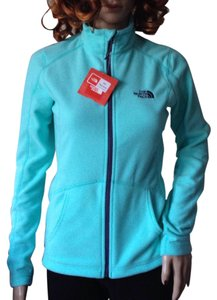 The North Face Mint Blue Fleece Jacket Coat