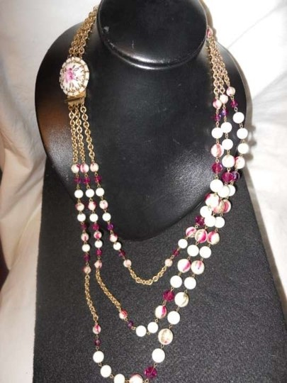 Hobe Vintage Hobe 3 strand necklace