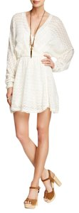 Free People short dress Ivory Sweater on Tradesy