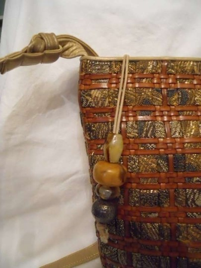 Sharif Leather Shoulder Bag