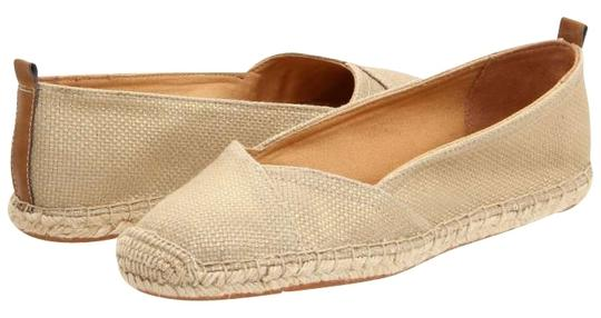 Naturalizer - New In Box Never Worn Metallic linen Flats