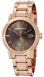 Burberry 100% Brand NEW IN THE BOX AUTHENTIC BURBERRY BU9005 ROSE GOLD LUXURY Unisex WATCH