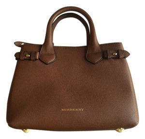 Burberry Banner Tote in CHECK TAN