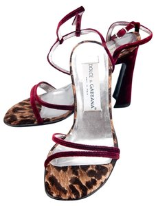 Dolce&Gabbana 60134 Red Sandals
