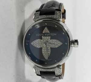 Louis Vuitton Louis Vuitton Tambour Bijou Forever Black Diamond Watch