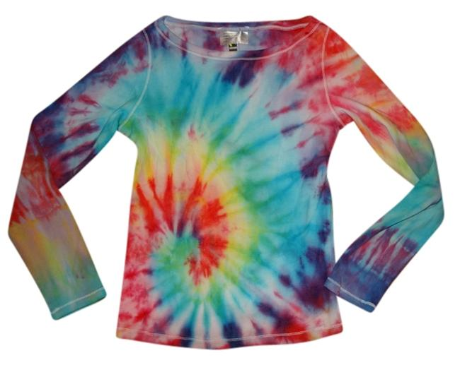 Other Planet Blue Blu Life Thermal Hippie Michael Kors Nastygal T Shirt MULTI COLOR