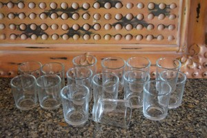 15 Clear Votives