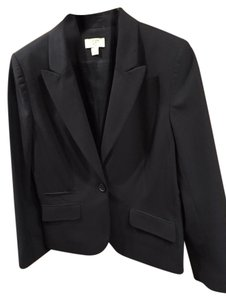 Ann Taylor LOFT Jacket Suit Work Black Blazer