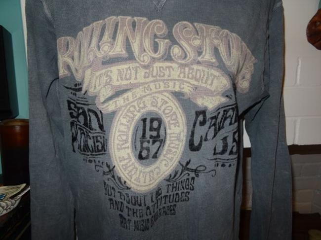 rolling stone collection Chaser Trunk Ltd. T Shirt GRAY, GREY