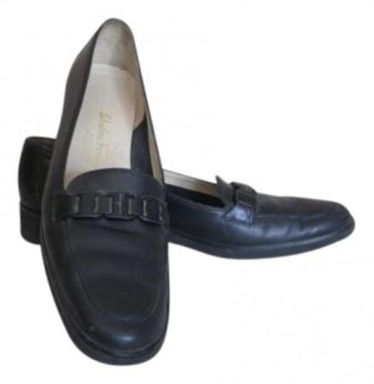 Preload https://item3.tradesy.com/images/salvatore-ferragamo-navy-hard-to-find-4a-widthvery-comfortable-flats-size-us-85-133957-0-0.jpg?width=440&height=440