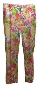 Lilly Pulitzer Straight Pants Print