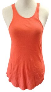 Zara Cotton Casual Summer Top Orange