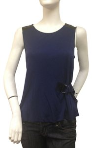 DREW Keyhole Top Navy Blue