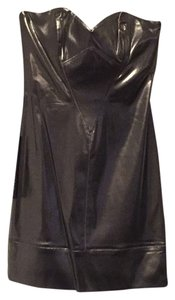 bebe Date Glowing Sparkling Strapless Dress