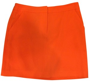 Ann Taylor Skirt Orange
