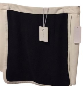 1.STATE Skirt White and black