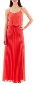 Coral Maxi Dress by Bisou Bisou