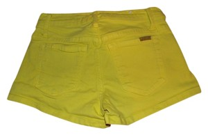 JOE'S Jeans Mini Mini/Short Shorts Bright Yellow