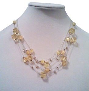 Mixit Mixit Sunshine Lemon Drops Crystal Necklace