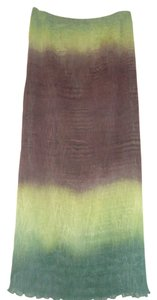 Anne Klein Brown Skirt Green