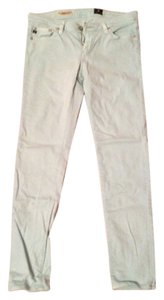 AG Adriano Goldschmied Pants Colored Skinny Jeans-Medium Wash