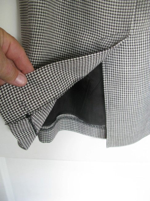 Other Skirt black and white houndstooth
