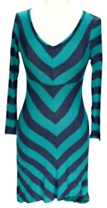 Ella Moss short dress Striped Scoop Neck Sheath on Tradesy