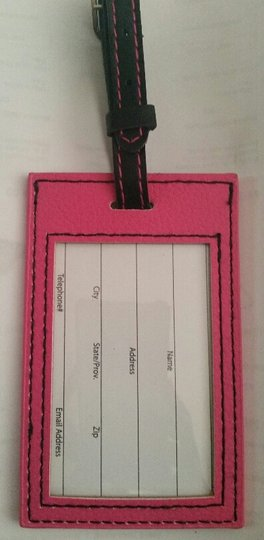 Other Initial Luggage Tag