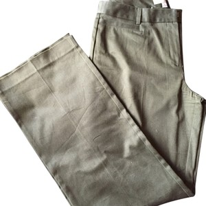 Ann Taylor Straight Pants Green