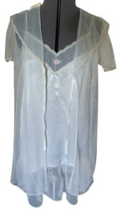Petra Fashions 2 Pieced Set Lingerie Nightwear Bridal Top Cream