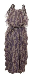 Tibi Silk Wedding Classic Birds Dress