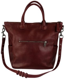Liebeskind Leather Tote in Red