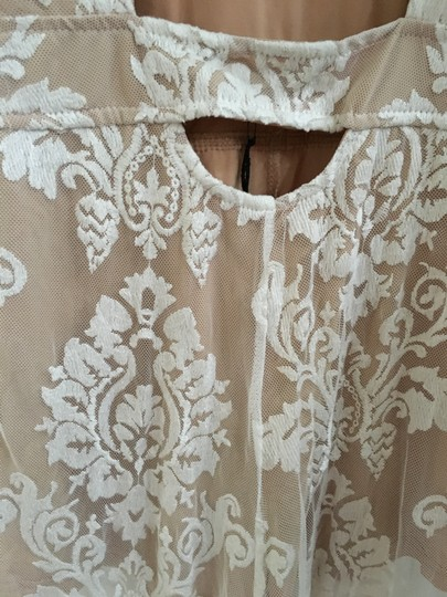 40c9033d8862 chic Honey Punch Ivory White Lace Wedding Sexy Ivory Romper Jumpsuit ...