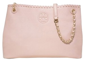 Tory Burch Tote in Light Oak Beige Pink