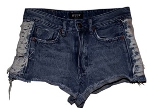 Neuw Cut Off Shorts Blue