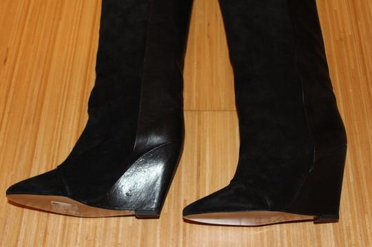 Isabel Marant Suede Leather Wedge black Boots
