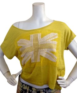Popsy T Shirt Yellow