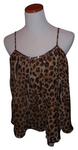 LaROK Top leopard mix (browns)