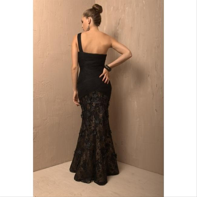 Jovani Marine Ball Evening One Nude Underlay Dress