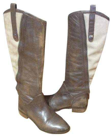 Sam Edelman Dark Brown/ Light Brown Boots