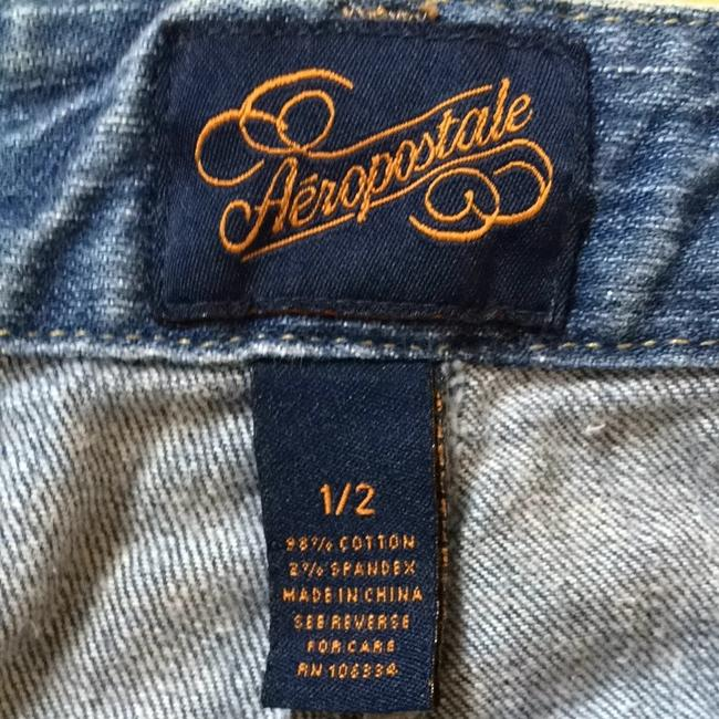 Aéropostale Mini Skirt Blue Jean
