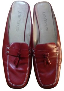 Ann Taylor Red Mules