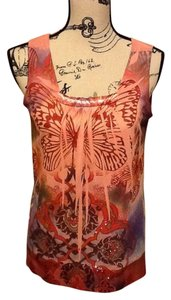 Apt. 9 Sleeveless Butterfly Top Rose