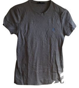 Ralph Lauren Casual Cotton Machine Washable T Shirt Grey