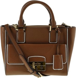 Michael Kors Audrey Satchel in Luggage
